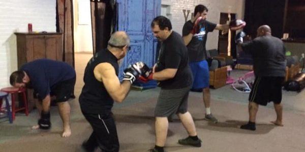 Evosports Kickboxing class